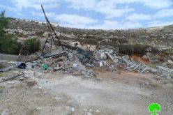 Demolishing a Barn in Al Baq'a