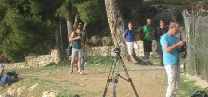 """المستعمرون يقتحمون برك سليمان  المصنفة """"ا"""" في قرية الخضر في محافظة بيت لحم"""