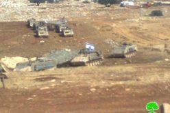 إجبار عشرات العائلات البدوية على النزوح في الأغوار الشمالية / محافظة طوباس