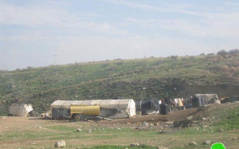 Confiscation of Water Tankers in Jiftlik
