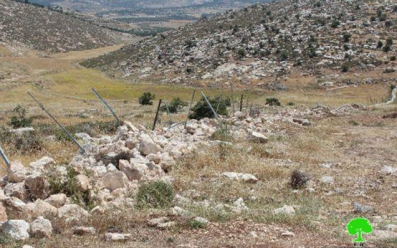 Bulldozing Agricultural Lands and Demolition of Cisterns in Beit Ula town