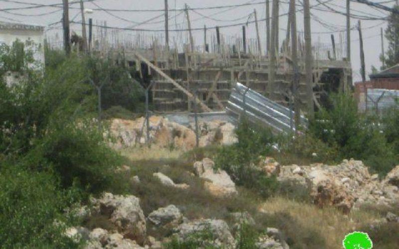 """مستعمرو """"تلة هاتمار"""" يبنون مدرسة يهودية على أراضي قرية الخضر"""