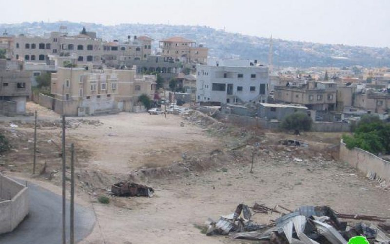 الاحتلال الإسرائيلي يهدم بركس في قرية دير دبوان  /محافظة رام الله