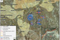 امر عسكري اسرائيلي جديد يستهدف أراضي بلدة تقوع جنوب شرق بيت لحم