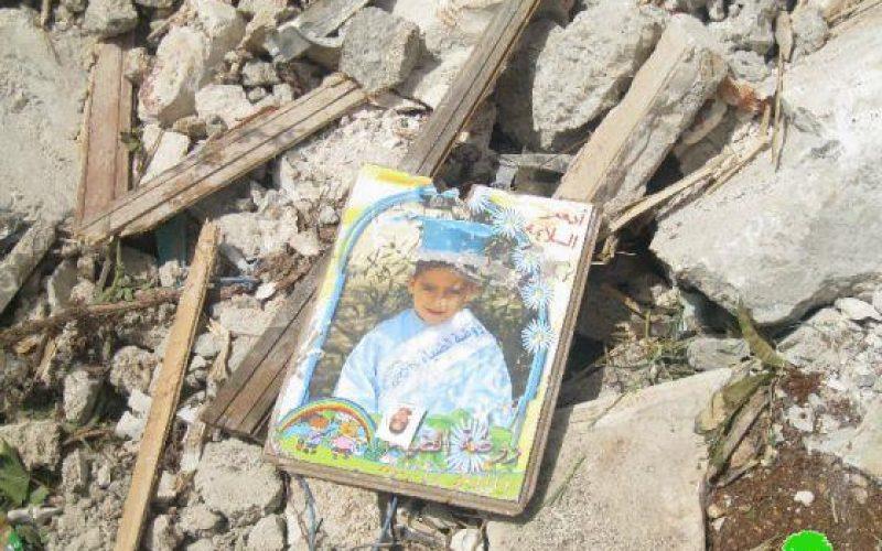 الاحتلال يهدم مبنىً سكنياً لعائلة السلايمة ويشرد 3 عائلات في بلدة بيت حنينا