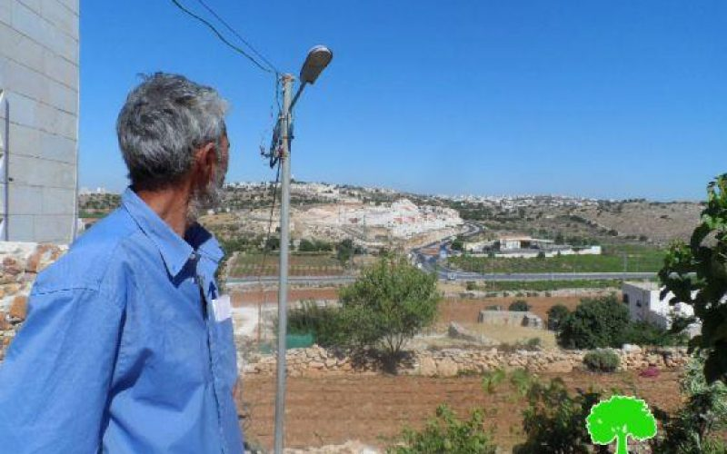 إخطار بوقف العمل والبناء في بئر مياه في البقعة شرق الخليل