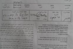 Stop-Work Orders for Structures and a Water Cistern in Al-Mafqara little town-east of Yatta- Hebron