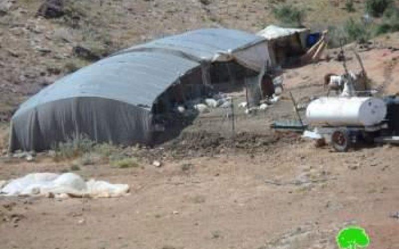 إخطار 3 عائلات من منطقة واد المالح بالإخلاء النهائي