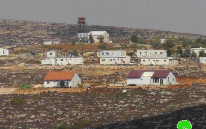 Expansion Work in Outposts in Nablus