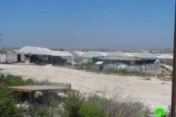 إنذار بهدم عدد كبير من الآبار الارتوازية قيد الإنشاء في قرية كفر دان / محافظة جنين