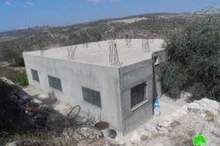 إخطار 10 عائلات بوقف البناء لمنشآتهم السكنية في قرية جيت