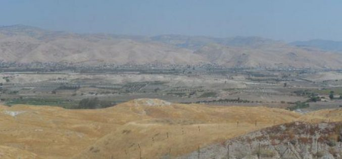 Transferring 5000 dunums of Palestinian lands to colonists in Jericho