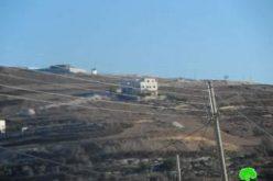 الاستيلاء على  15 دونماً من الأراضي  الزراعية  في قرية عصيرة القبلية / محافظة نابلس