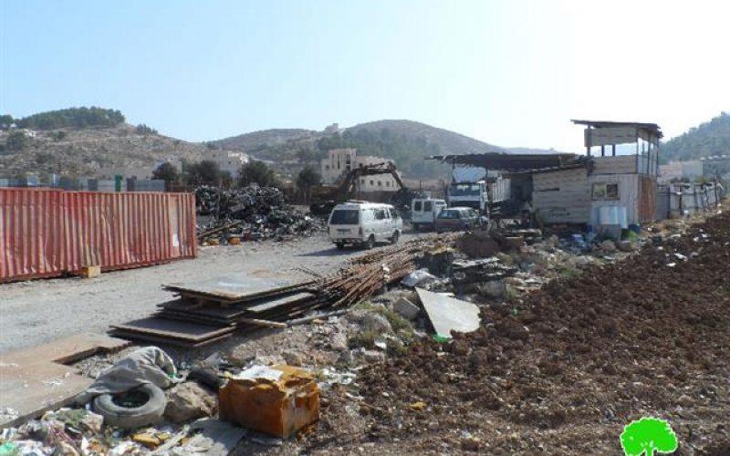 إخطارات بوقف العمل في 3 منازل وآخر بهدم منشأة في دير سامت
