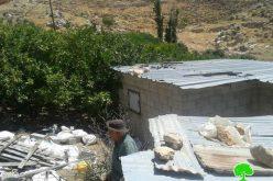 الاحتلال الاسرائيلي يهدم محطة لتوليد الطاقة الشمسية في خربة الدوا في محافظة نابلس