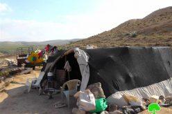 إخطار 29 عائلة بدوية بالإخلاء من مناطق سكنهم بحجة تنفيذ تدريبات عسكرية