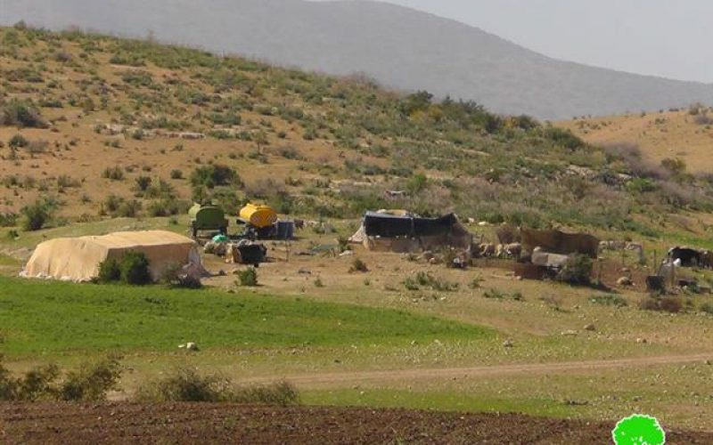 29 Bedouin families ordered to evacuate their residences in Bedouin Khirbets in the Jordan Valleys