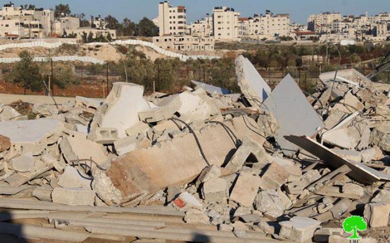 الانتهاكات الإسرائيلية في القدس المحتلة خلال شهر شباط من العام 2014