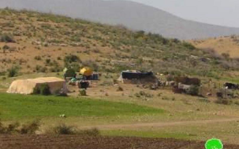 قرار بإخلاء 35 عائلة بدوية في مناطق الأغوار الشمالية بحجة التدريبات العسكرية