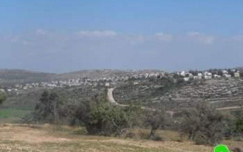يستهدف 800 دونماً من أراضي قريوت, الإعلان عن مخطط تفصيلي لتغيير صفة استعمال الأراضي لتصبح تجارية وسياحية