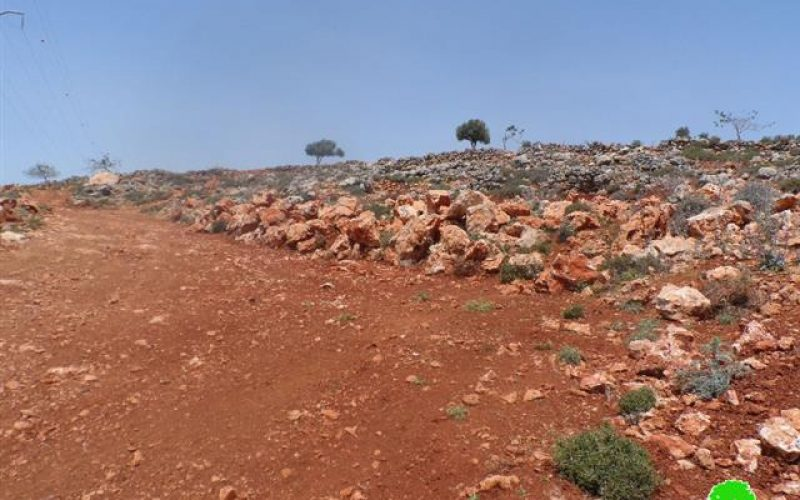 Demolition of retaining walls in Ramallah