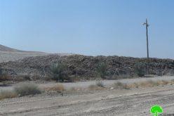 Israeli landfill sites in Jordan Valley Destroy Palestinian Environment