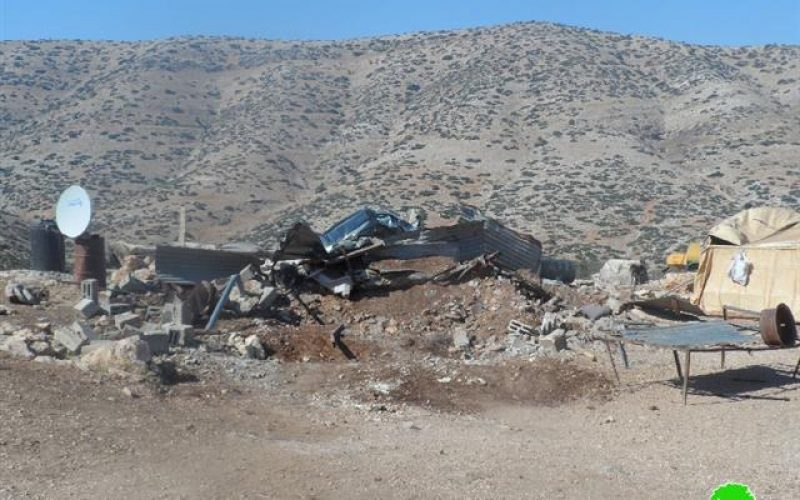 Demolition of  a number of agricultural and residential structures