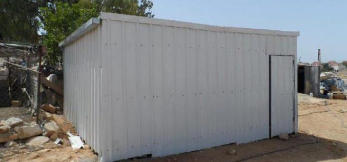 Threats to Demolish a Residence in Yatta