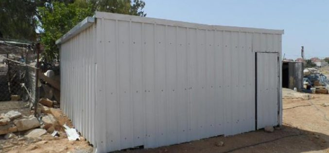 Threats to Demolish a Residence in Khirbet Umm al-Khair, Yatta