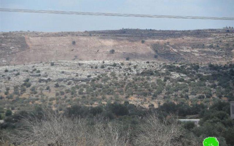 الاحتلال الإسرائيلي يسلم إخطارات بهدم خمس غرف زراعية في بلدة كفر الديك