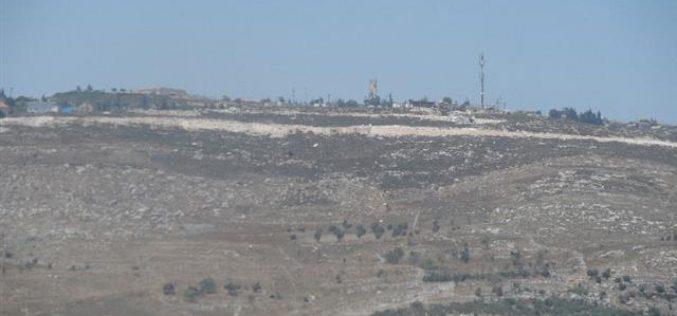 Expansion of Bracha settlement on Burin lands