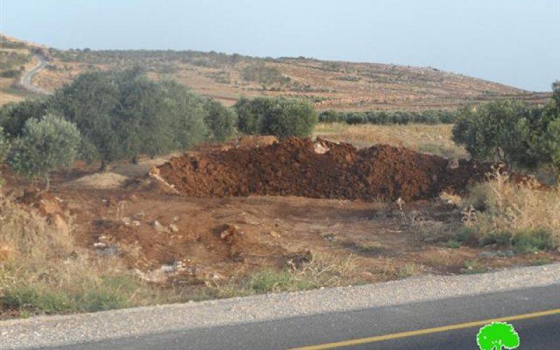 جيش الاحتلال يعيد إغلاق بعض الطرق الزراعية في بلدة عقربا