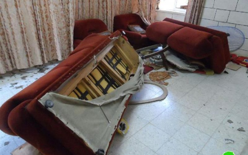"""""""Unrivaled Wave of Attack on Hebron"""" <br> The Israeli Occupation Razes the Homes of the Families of al-Qawasmi and Abu- Eisha"""