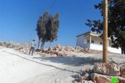 The occupation bans a family to inhabit their house in area classified B