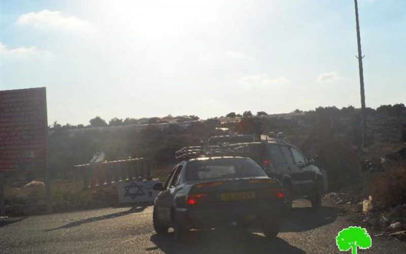 الاحتلال الإسرائيلي يقيم حاجزاً عسكرياً على مدخل عزبة شوفة / محافظة طولكرم