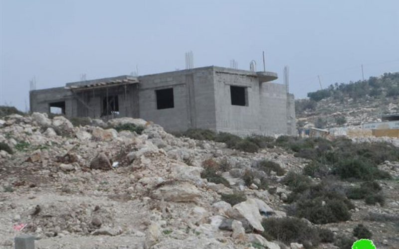 Four structures notified of stop work orders in Deir Samit