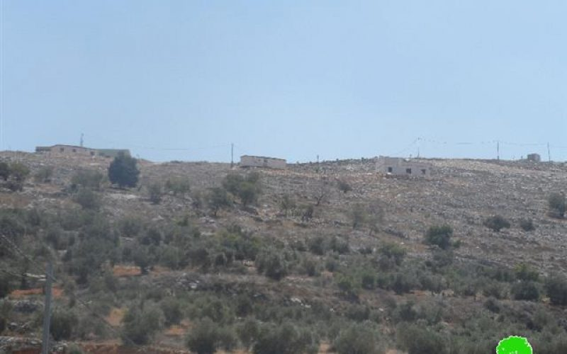 A new colonial quarter in the outpost of Har Bracha in Nablus