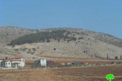 إخطارات بإخلاء عشرات الدونمات الزراعية في مدينة طوباس