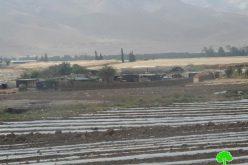 إخطار غرف سكنية في قرية الجفتلك بوقف البناء