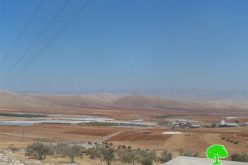 The Israeli occupation confiscates agricultural machineries in Tubas