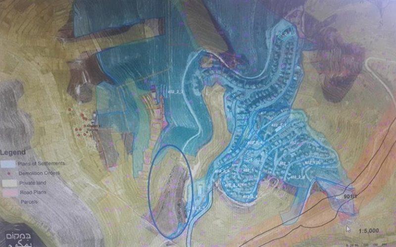 Depositing a master plan for Nevi Daniel at the expense of al-Khadr lands