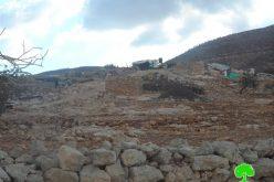 تدمير شبكة كهرباء خربة الطويل في بلدة عقربا بمحافظة نابلس