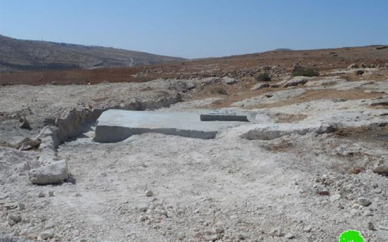 The occupation threats to demolish agricultural structures in Yatta