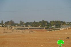 الاحتلال الإسرائيلي يغلق طريق زراعية شقها المزارعون في منطقة سهل البقيعة