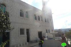 إحراق مسجد أبو بكر الصديق في بلدة عقربا على يد مستعمري تدفيع الثمن