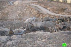 الاحتلال يهدم مساكن المواطنين في خربة أم الخير شرق بلدة يطا
