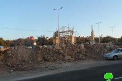 إغلاق مدخل بلدة ديرستيا مجدداً على يد قوات الاحتلال الإسرائيلي