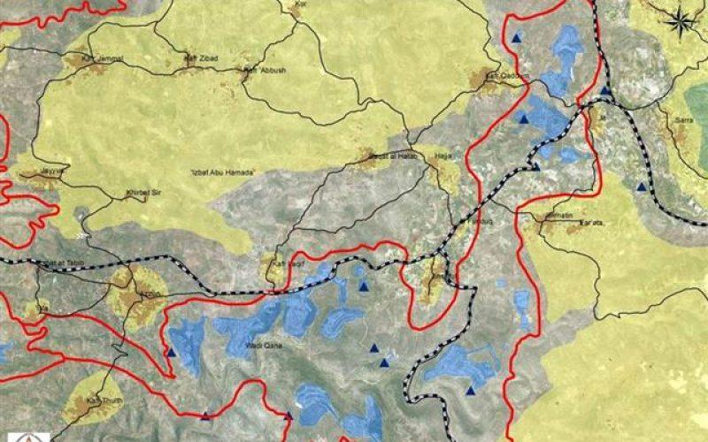 اسرائيل تستهدف مناطق المحميات الطبيعية لبناء المستوطنات الاسرائيلية