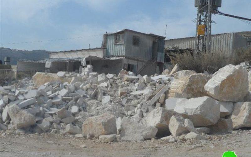 """مستعمرو مستعمرة """" يتسهار"""" ينفذون اعتداءاتهم على الممتلكات الفلسطينية في بلدة حوارة"""