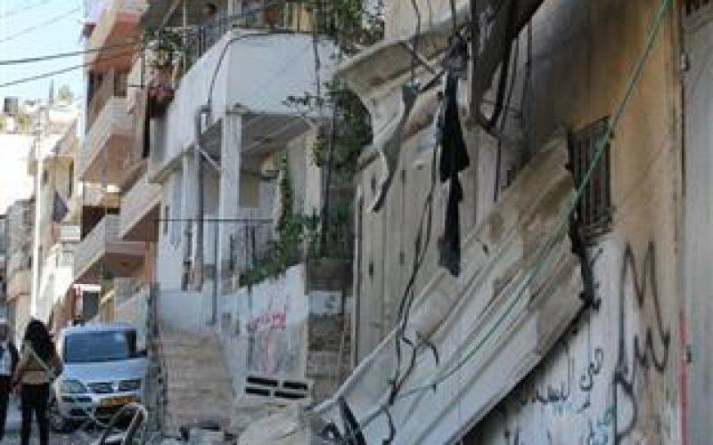 """""""الاحتلال يطبق سياسة العقاب الجماعي على الفلسطينيين دون المستعمرين"""" ,<BR>  الاحتلال يفجّر مسكن عائلة الشهيد عبد الرحمن الشلودي في سلوان"""
